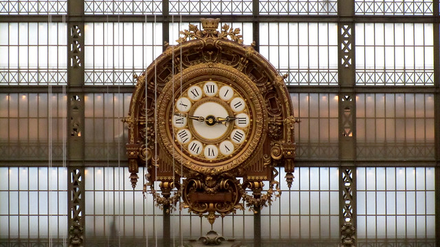 Clock of Musée d'Orsay