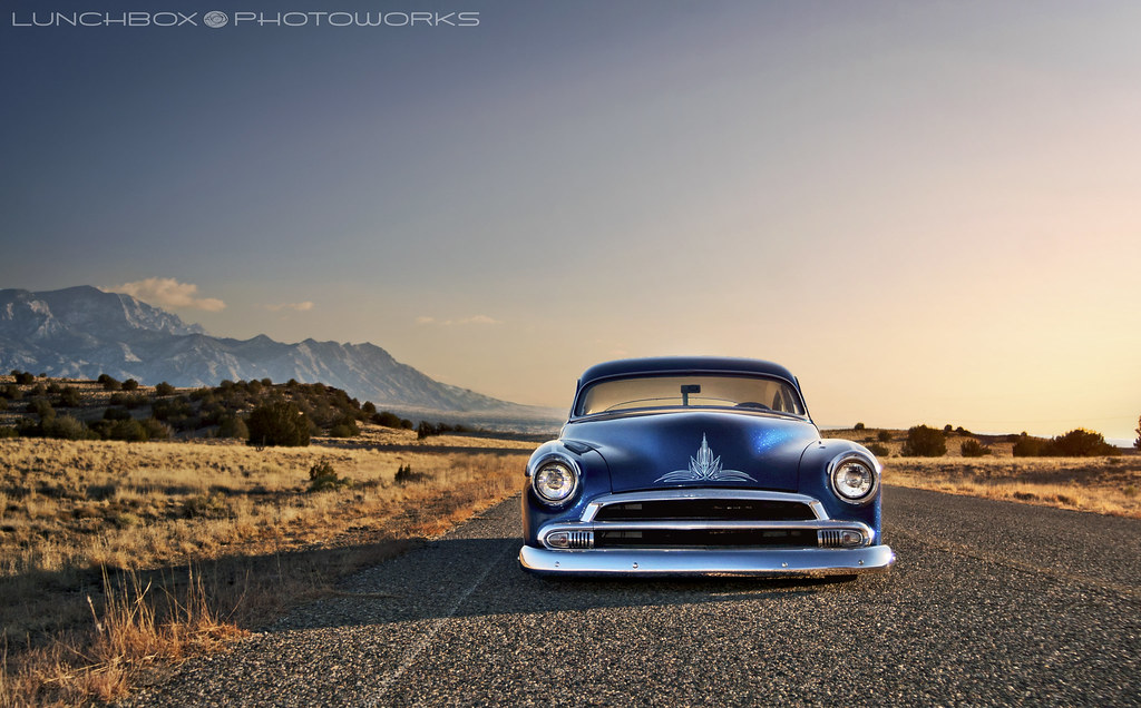 51 Chevy Chopped Channeled And Bagged
