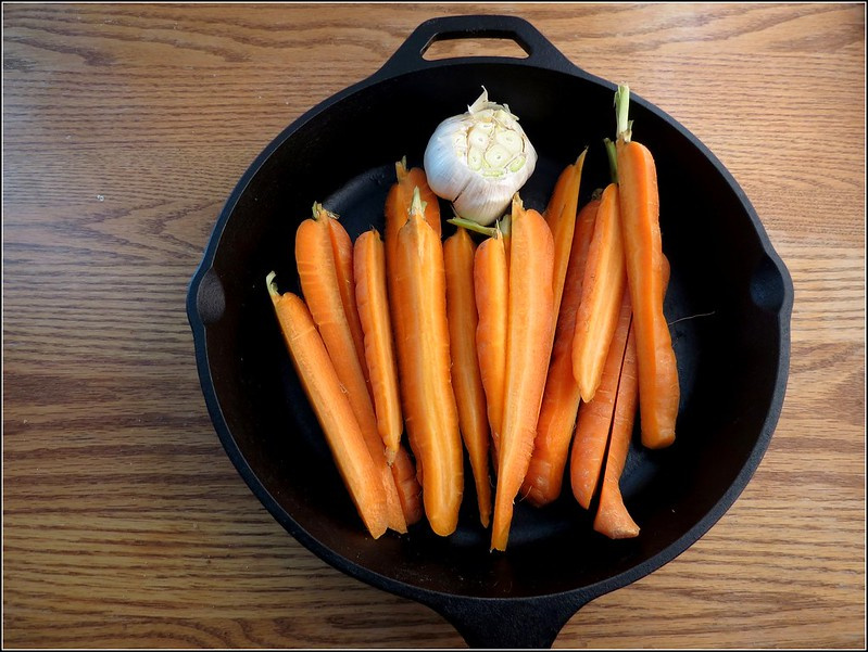 Carrots with Skillet