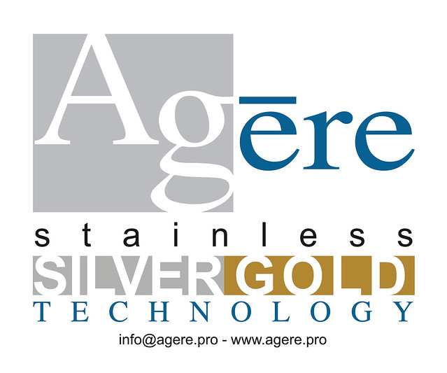 Agere Srl logo with email