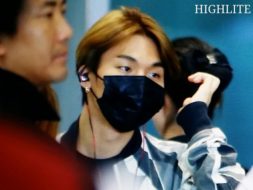 Big Bang - Gimpo Airport - 07jun2015 - Dae Sung - High Lite - 05