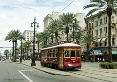 New Orleans trolleys