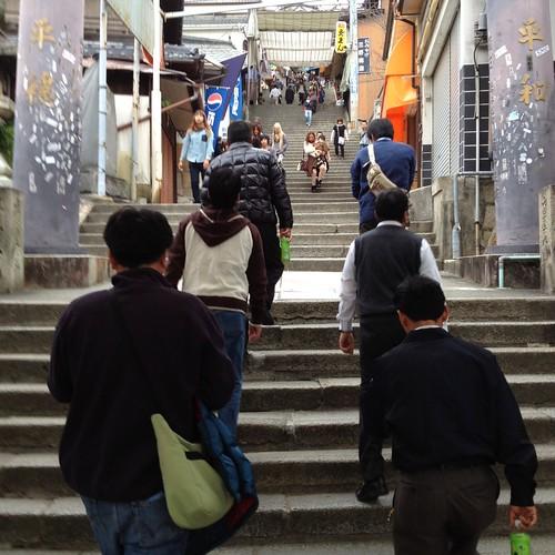 金比羅さんの階段 by haruhiko_iyota