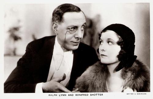Ralph Lynn, Winifred Shotter