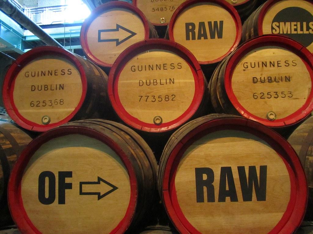 Barriles de Guinness