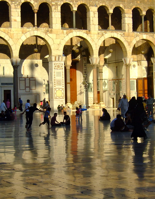 Reflections on Umayyad Mosque, Damascus