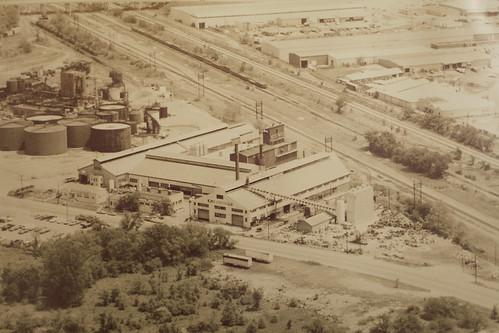 W. J. Bullock Aerial View