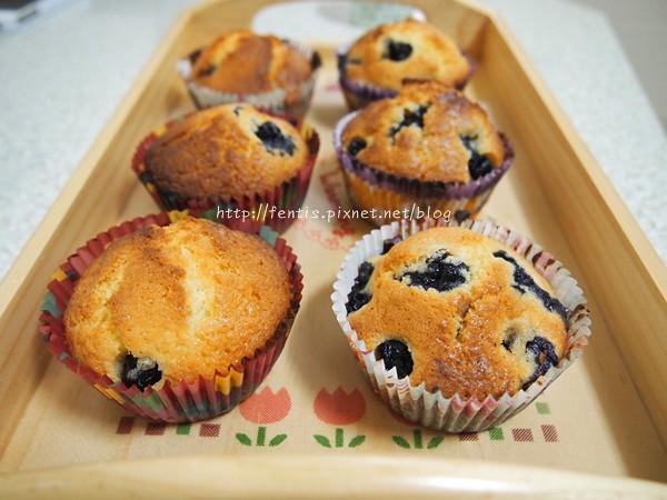 藍莓馬芬1