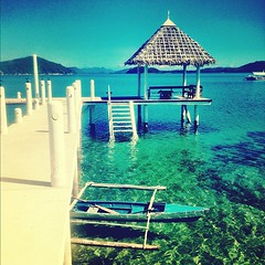 #philippines #travel #sea #beach #pier #boat #palawan #coron #island