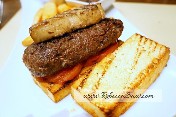 Foie gras burger -Prime, Le Meridien KL-001