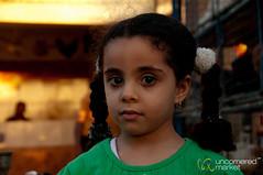 Egyptian Girl at Market - Hurghada, Egypt