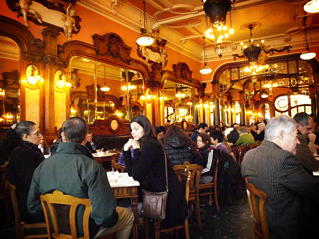 Inside the Majestic cafe, Porto