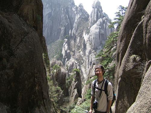 François dans les montagnes jaunes