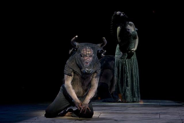 John Tomlinson and Christine Rice in The Minotaur © Bill Cooper, 2008