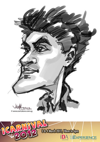 digital live caricature for iCarnival 2012  (IDA) - Day 2 - 80