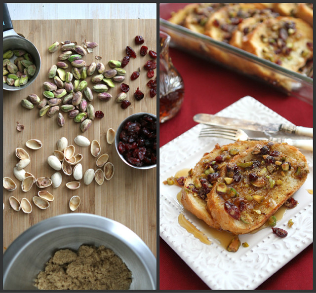 Baked French Toast Casserole Recipe with Cranberry & Pistachio ...