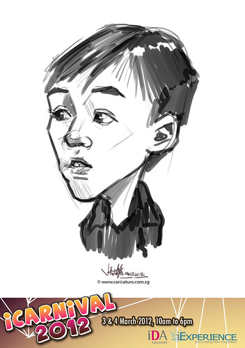 digital live caricature for iCarnival 2012  (IDA) - Day 2 - 34