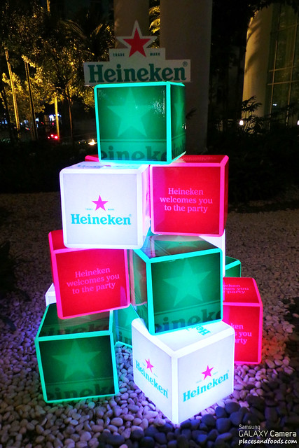 heineken boxes