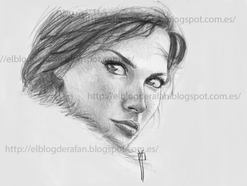 Look. Pencil Drawing