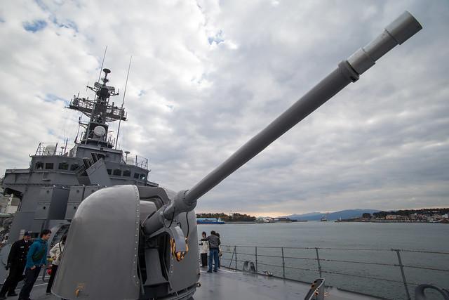 62口径76ミリ速射砲 - 護衛艦さわゆき