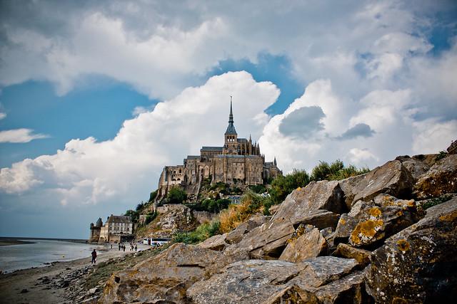 Monte Saint Michel, Baja Normandía, Francia.