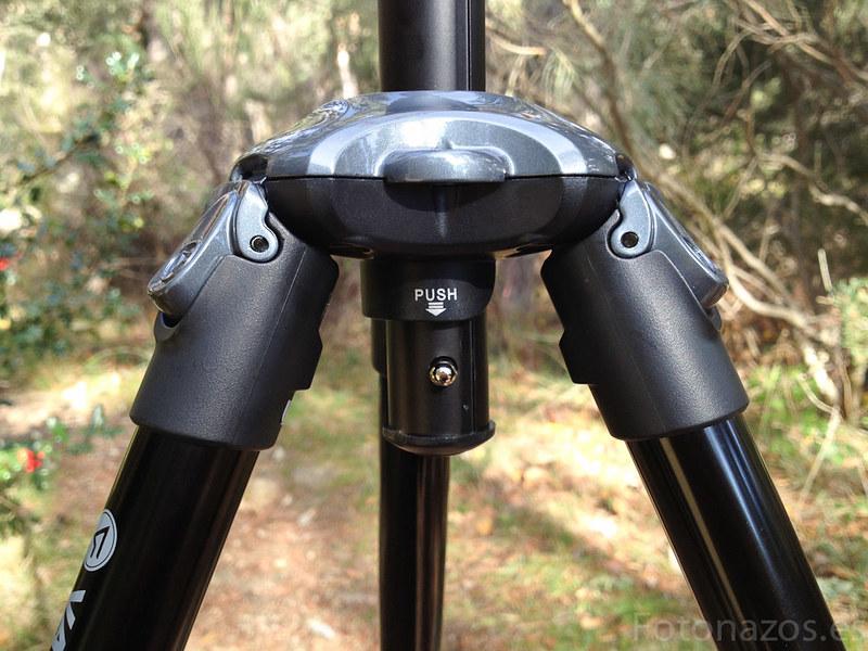 Review del Trípode Nivelo 245BK de Vanguard