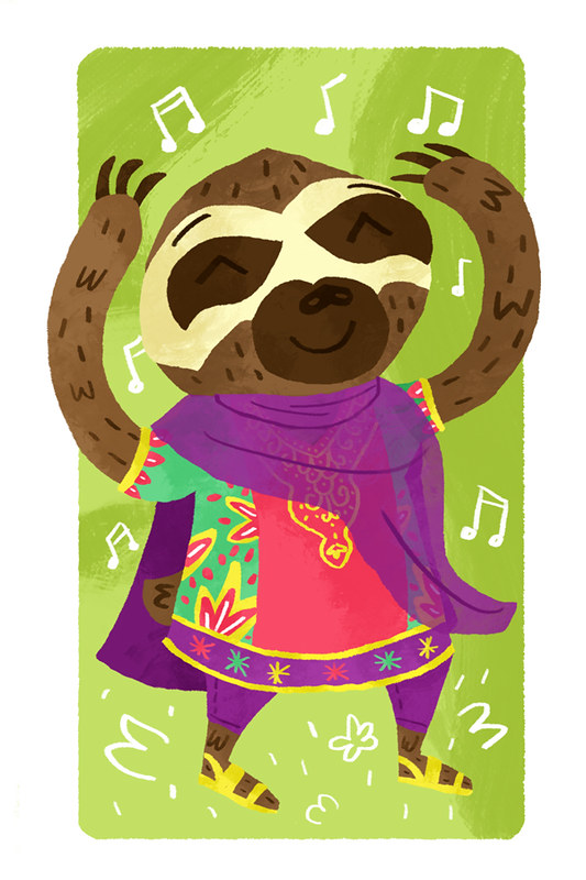 Sloth Portrait