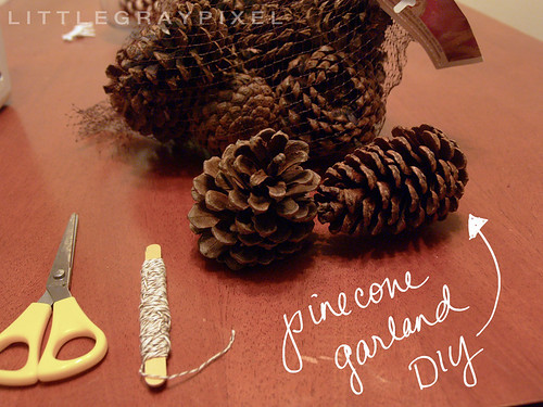 Pinecone Garland DIY