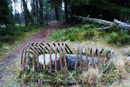 Gathering Stone, Sherriffmuir Battle Site, Scotland