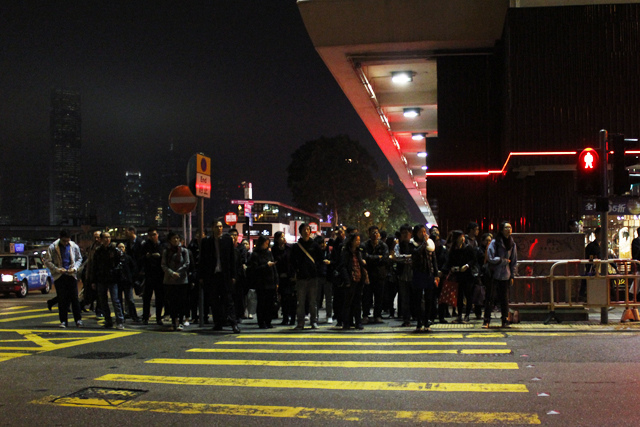 the imaginist in hong kong - crowds