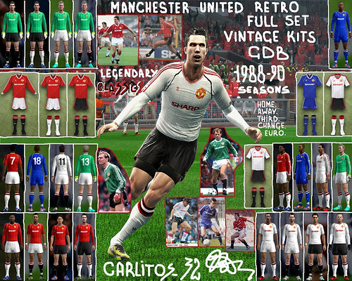 Download Historia Kits Manchester United 1988/1990