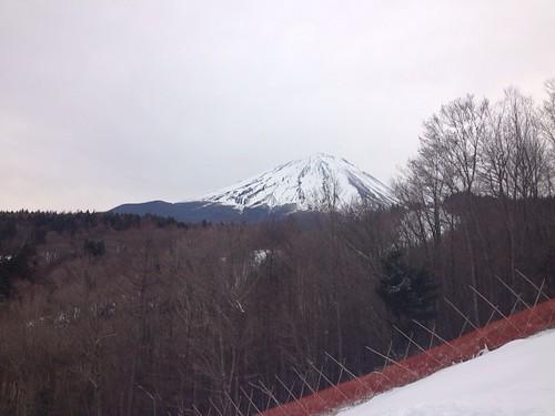 ふじてんからの富士山