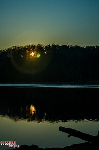 lake reflection nature water sunrise georgia lagrange troupcounty westpointlake thesussman sonyalphadslra550 sussmanimaging
