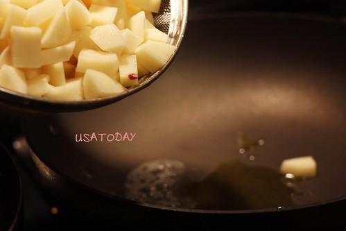 韓式馬鈴薯 Korean potato 6