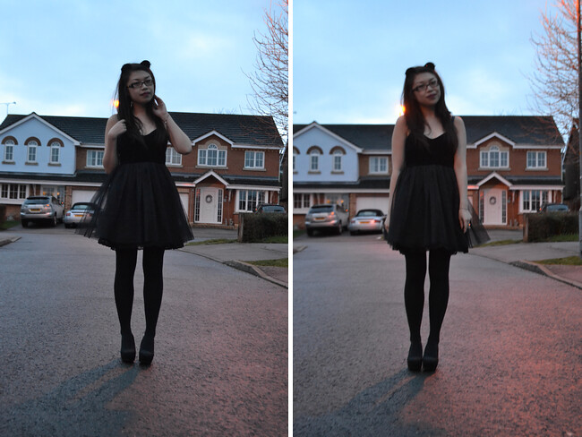 daisybutter - UK Style and Fashion Blog: what i wore, wiwt, ootd, fashion blogger, motel rocks, motel tera dress, christmas day outfit