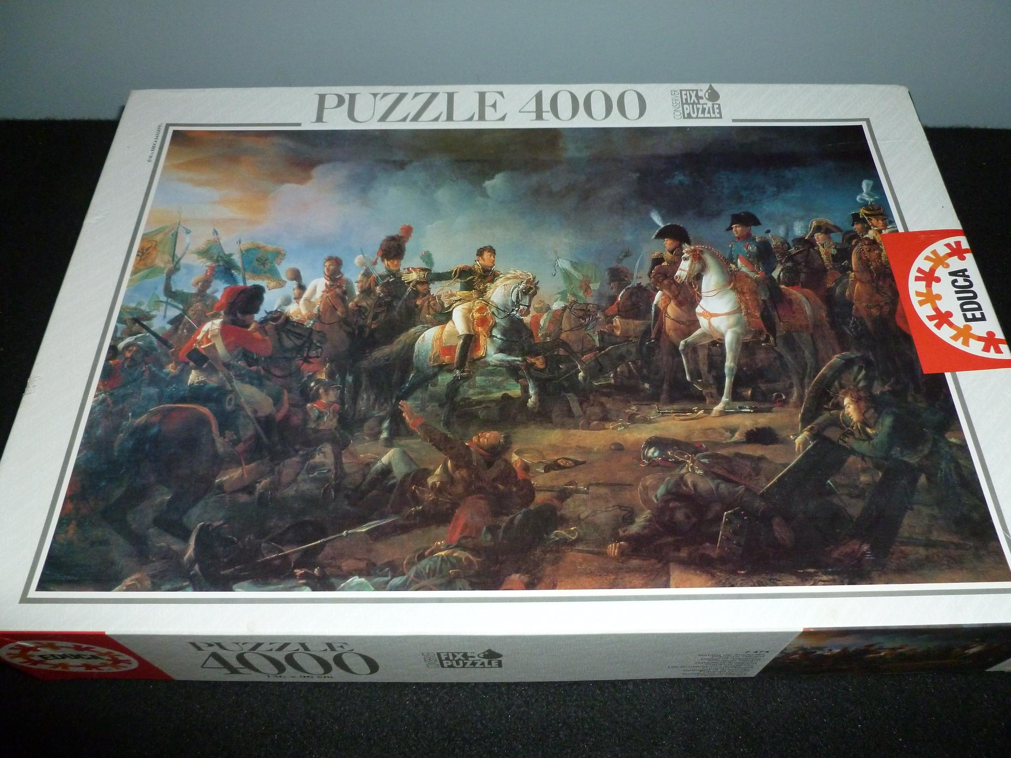 4000 piece puzzle battle of austerlitz by fran ois. Black Bedroom Furniture Sets. Home Design Ideas