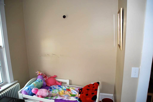 Quinn's Toddler Bed Wall