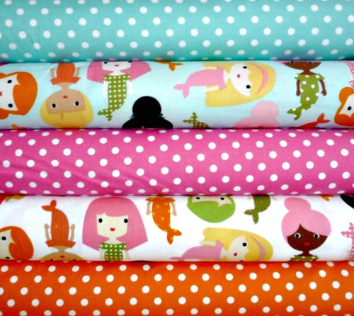 Girlfriends & Dumb Dots Bundle for Fariday's Fabric Giveaway!