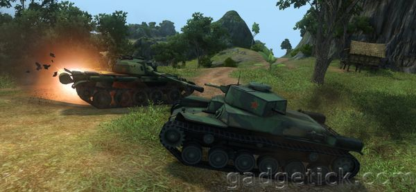 тест World of Tanks 0.8.3