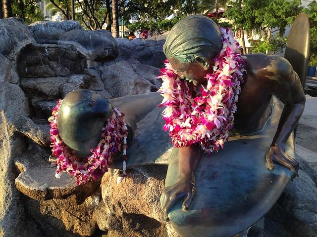Makua and Kila statue