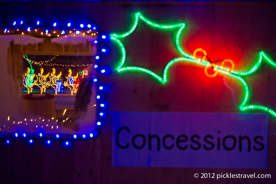 Holiday Lights at the Concessions