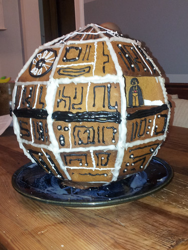 gingerbread death star