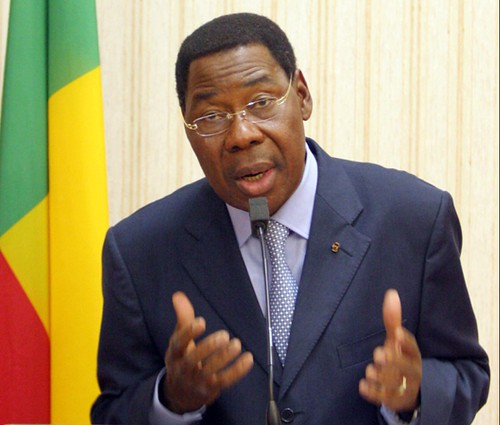 President Boni Yayi of the Republic of Benin and chairman of the African Union has traveled to the Central African Republic in an effort to mediate the internal conflict. Rebels have threatened to overthrow the government in CAR. by Pan-African News Wire File Photos