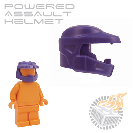 Powered Assault Helmet - Dark Purple