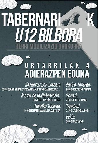 Iruñeko tabernariak, U12Bilbora!
