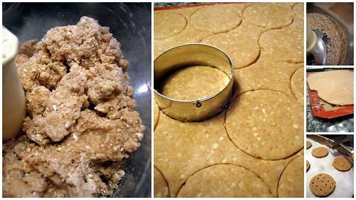 Digestive Biscuit Dough