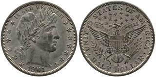 1901-S Half Dollar