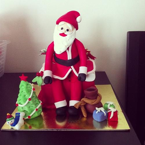 #santacake #christmascake by l'atelier de ronitte
