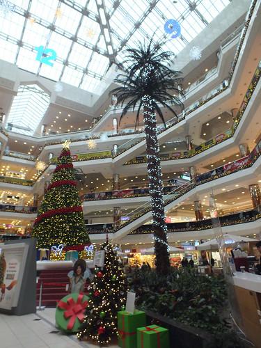 Karácsony a Cevahir AVM-ben