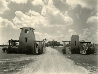Entrance to the Glenn H. Curtiss House: Miami Springs, Florida